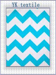 100%COTON tissu chevron Poplin,bébé et enfant de la conception pour drap de lit, édredons, du vêtement et textiles d'accueil