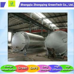 مخلفات مخلفات مخلفات مخلفات مخلفات/مخلفات البلاستيك / مخلفات المطاط / النفايات الصلبة في مصنع الزيت مع CE، SGS، ISO، BV