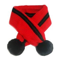Chicas Chicos niños Longweiz Infinity Scarf, bufanda Niño Unisex rojo marca la moda, de la Cruz bufanda liviana, acogedor y cálido a los niños de bola de pelusa Bufandas