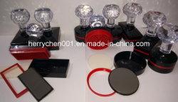 Th poignée Crystal Flash série de timbres en caoutchouc avec Flash de 4 mm