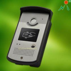Brunidor de porta de áudio com leitor de cartões RFID