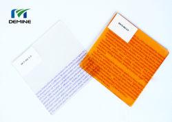 Vela caliente de 6,0 mm de grado V0 de policarbonato retardante de llama Hoja de PC
