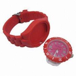ساعة مخروطية من السليكون سريعة التسليم (ساعة مخروطية من السليكون 005)