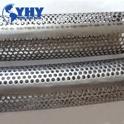 Maillage en métal perforé en acier inoxydable pipe pour système d'échappement