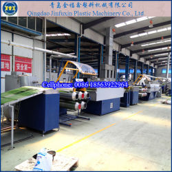 Césped césped artificial de plástico de línea de maquinaria de producción