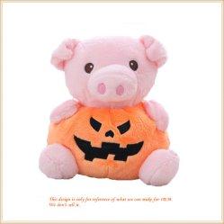 幸せな休日のHalloweenのプラシ天のカボチャ人形の柔らかい動物のおもちゃ