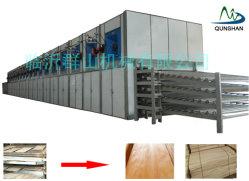 합판 베니어를 위한 목공 기계 롤러 컨베이어 건조기 기계