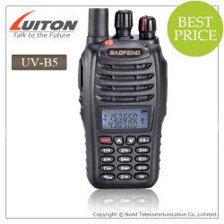 Fuerte poder Baofeng UV-B5 de doble banda, 136-174MHz y 400-470MHz radio de dos vías Ham Radio