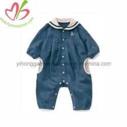 冬の長い袖のレギングのスポンジの赤ん坊のスリープの状態であるオーバーオールの衣服