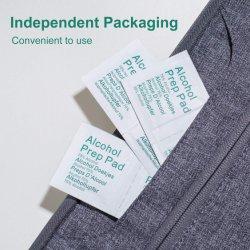 Портативный ПК 100 75% стороны одноразовые салфетки чистящие салфетки ткани Отдельно упакуйте ежедневного ухода за хлопок марлей срезов для руки очки мобильному телефону iPad