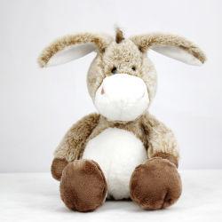 2021 Venda por grosso de animais taxidermizados Donkey Toy Peluche dom para as crianças