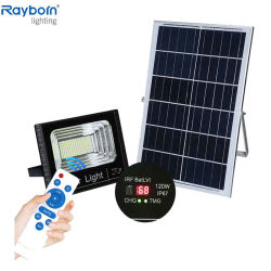 IP66 de haute qualité à l'extérieur LED étanche avec projecteur solaire 100W 150W 200W 300W Garden Road Square Park