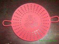 Collander en silicone pour usage de la cuisine bas prix