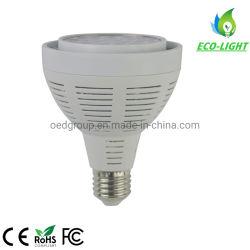 Multibeam Active-Cooled PAR 30 lâmpadas LED da unidade da lâmpada 40W E26 E27 Iluminação de estúdio fotográfico