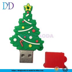 Custom ПВХ Санта Елочные флэш-накопитель USB 2.0 16g 32g