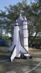 2091 Nova almofada insuflável de foguetes de publicidade exterior para venda
