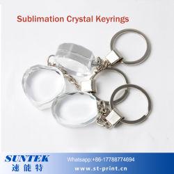 De Lege Sleutelring/Keychain van het Kristal DIY voor de Druk van de Sublimatie