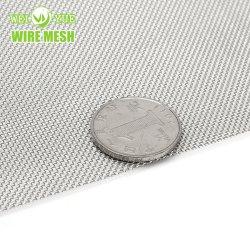 Tecidos de aço inoxidável pano de malha quadrada