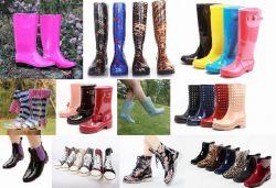 De populaire Laarzen van de Regen van de Dames van de Stijl, de Laars van de Regen van de Vrouwen van de Mode, de Goedkope Laars van Dame PVC Regen, de Nieuwe Laarzen van de Vrouwen van de Manier, Laarzen de Van uitstekende kwaliteit van de Vrouw