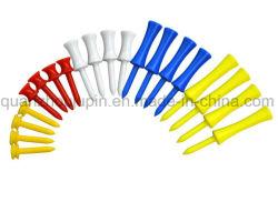 OEM coloré en plastique de diverses tailles Tee de golf