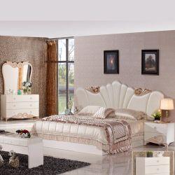 Воспроизведение с одной спальней с использованием антикварной мебели кровать (3383)