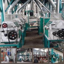 De Machine van het Malen van koren van het Graan van de Verkoop van de Markt van Angola 30t