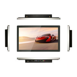 شاشة LCD قياس 23 بوصة تعمل باللمس مزودة بشاشة رقمية للقرآن الكريم مزودة بتقنية Ethernet