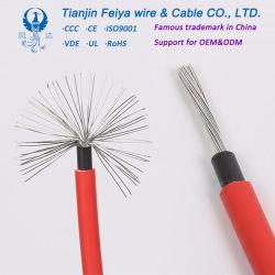 Фотоэлектрические системы связи Cooper электрического кабеля кабель солнечной энергии на 4 мм2 PV кабель