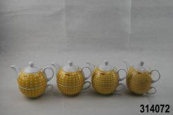 Porzellan-Tee für einen