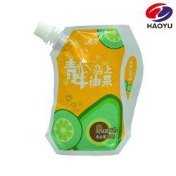 Le liquide Stand up sac en plastique avec bec verseur pour le yaourt / / Lait Jus de fruits