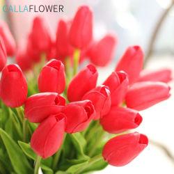 PU artificielle Tulip fleur décorative en imitation de la décoration florale MW01502