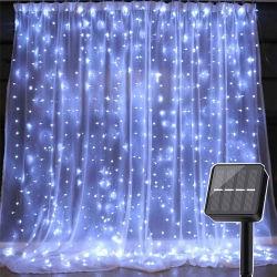 Indicatore luminoso solare della stringa della tenda di finestra alimentata del LED