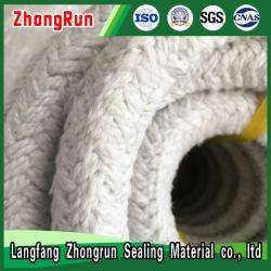 Cuerda de bobinado de fibra cerámica, Material incombustible, cuerda aislante