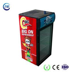 慣習的な霜の自由な飲料のガラスドアの清涼飲料冷却装置(JGA-SC80)