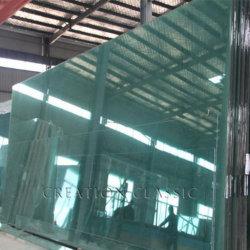 25mm Trempé pour verre courbé porte décorative et salle de bains