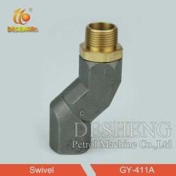 La Cina attacco snodato in acciaio dell'ugello del tubo flessibile da 45 gradi per l'iniettore di Opw - giuntura dell'ugello della Cina, parte girevole dell'ugello del tubo flessibile