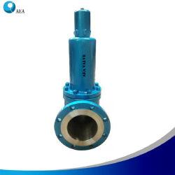 Diseño de cuerpo Self-Draining Inconel X-750 Resorte de la PSV la válvula de alivio de seguridad para el crudo
