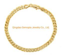 Monili d'ottone di modo della collana placcati Rhodium placcati oro Chain cubano d'ottone di Figaro dei monili degli uomini