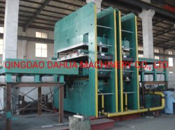 出版物またはゴムマットの加硫機械を加硫させる機械またはゴム床のマットを作るゴム製床のマット