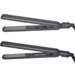 Анион ионные плоские утюг утюг волос Турмалиновые керамические покрытия PRO выпрямитель для волос титана 1' рейки