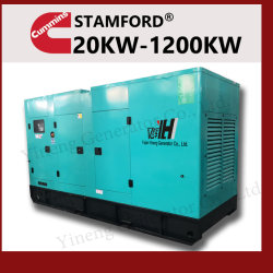 Cummins/Рикардо меньше топлива электростанции Silent электрического питания дизельного генератора