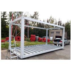 Prefab Mobil Metal pré-fabricadas em aço inicial Estrutura de contentores