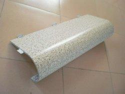 2mm 3 mm de Tinta em Pó PVDF Hyperboloidal superfície curvada duplo painel Soild Alumínio folha de alumínio usado para revestimento de paredes Cortina decorativa