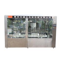 공장 자동적인 포도주 잔 병 채우는 포장 기계