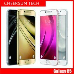 Rénovées Galaxy C5 C5000 5,2 pouces Octa Core 4 Go de RAM 32 Go/64 Go ROM 16MP caméra 6.0Smart Android téléphone double SIM