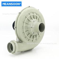 3 duim 75 de Chemische Ventilator van de Lucht van pp Plastic Corrosiebestendige Elektrische Centrifugaal