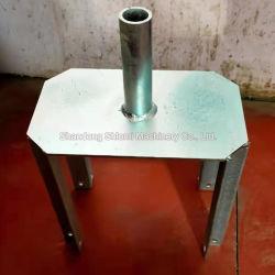 Testa a U e testa a forcella zincate per ponteggi da costruzione Testa in acciaio per travi di sostegno per ponteggi