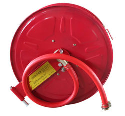 Acero inoxidable de 30m del carrete de manguera de incendios sistema de combate de incendios
