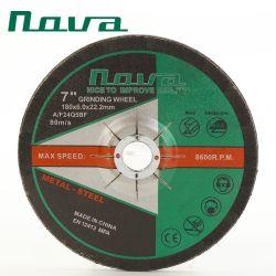 Алюминия Inox абразивного полирования стальной диск шлифовального круга