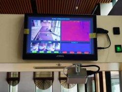 De infrarode AutoScanner van het Type van Deur van de Analyse van de Thermische Weergave voor het Meten van de Temperatuur van het Lichaam